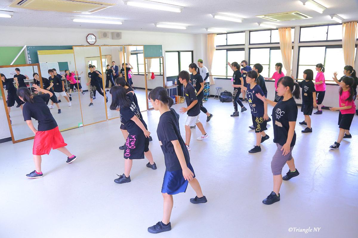 Toshiダンス講演会 at 杜若高等学校_a0274805_01173499.jpg