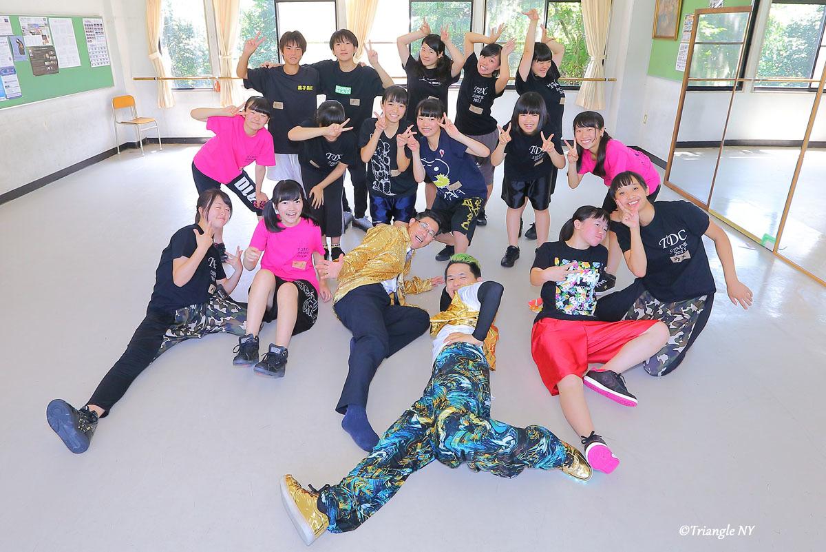 Toshiダンス講演会 at 杜若高等学校_a0274805_01174445.jpg