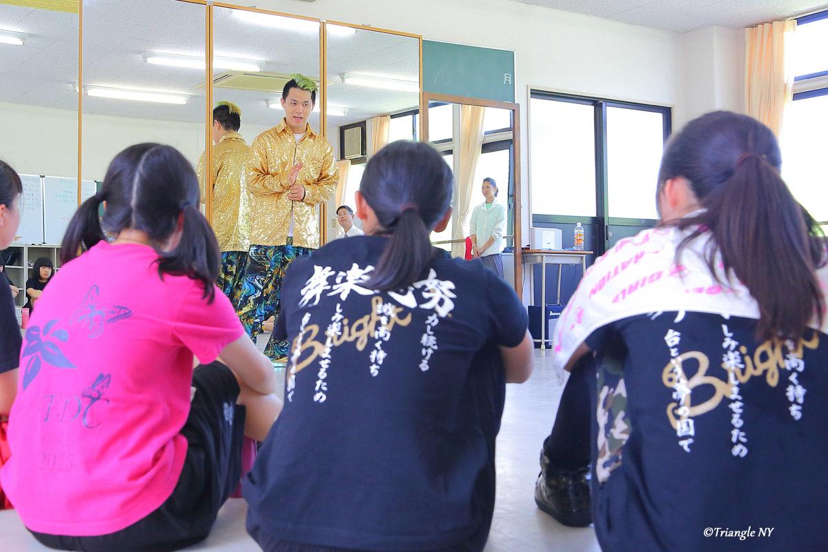 Toshiダンス講演会 at 杜若高等学校_a0274805_01175771.jpg