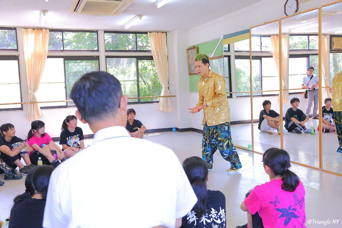 Toshiダンス講演会 at 杜若高等学校_a0274805_01181675.jpg