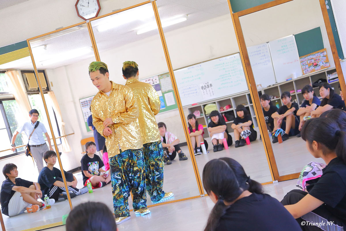Toshiダンス講演会 at 杜若高等学校_a0274805_01183405.jpg