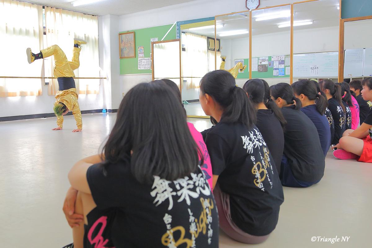 Toshiダンス講演会 at 杜若高等学校_a0274805_05553247.jpg