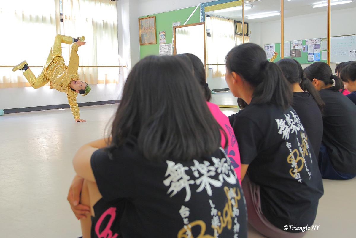 Toshiダンス講演会 at 杜若高等学校_a0274805_05555987.jpg