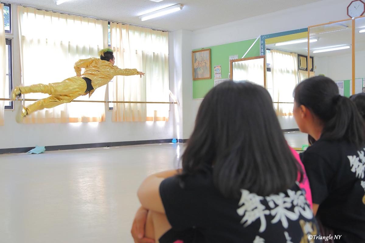 Toshiダンス講演会 at 杜若高等学校_a0274805_05561519.jpg