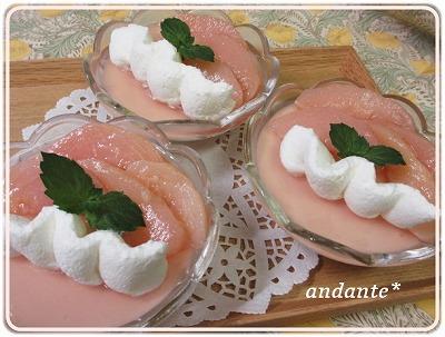 桃のお菓子達♪_d0336445_1882565.jpg