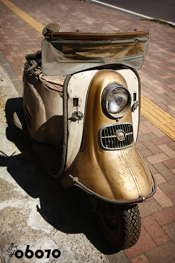 1960s Vintage RABBIT S601 SCOOTER 富士重工 ラビット 鉄スクーター_e0243096_1352237.jpg