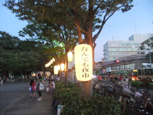 夜市で夕涼み..._b0137932_20192563.jpg