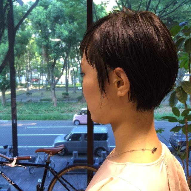 黒髪ショート!_a0272765_17592232.jpg