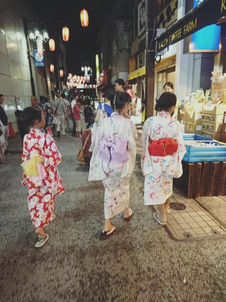夏祭り@大岡山_b0195783_10331369.jpg