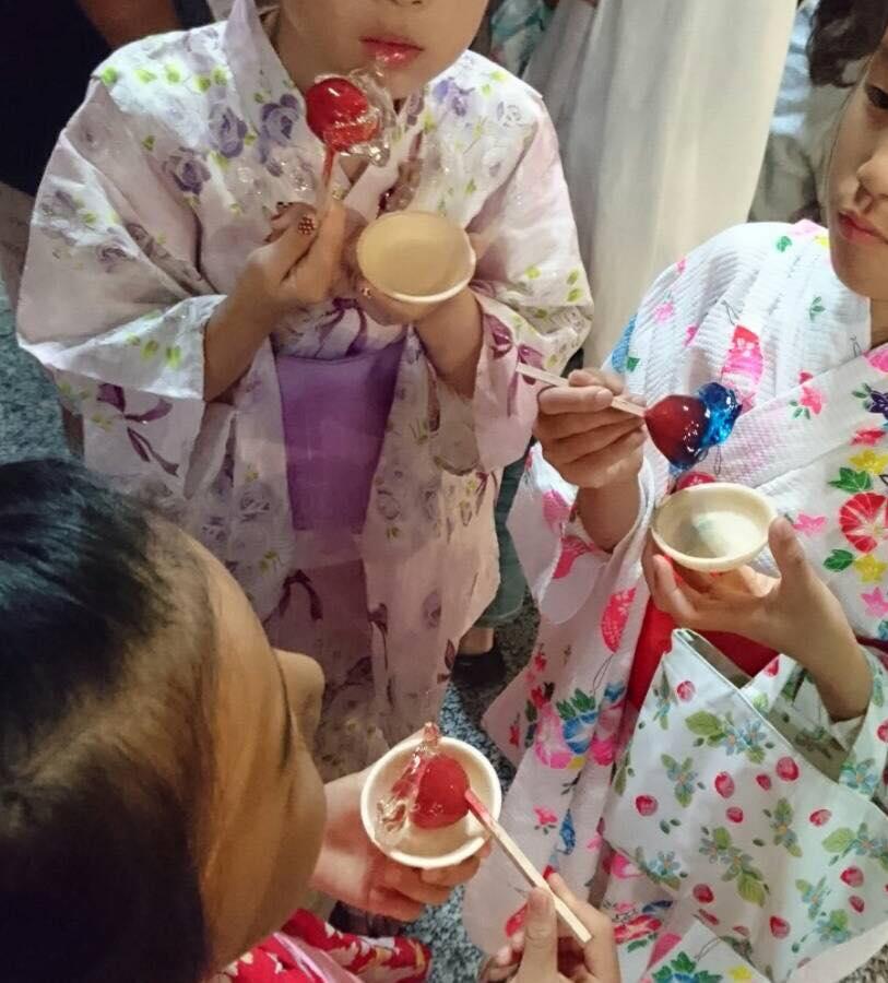 夏祭り@大岡山_b0195783_1033628.jpg