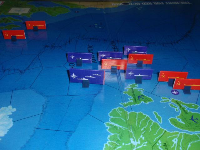 TSR「The Hunt for Red October」より「大西洋船団」をソロプレイ②_b0162202_20102859.jpg