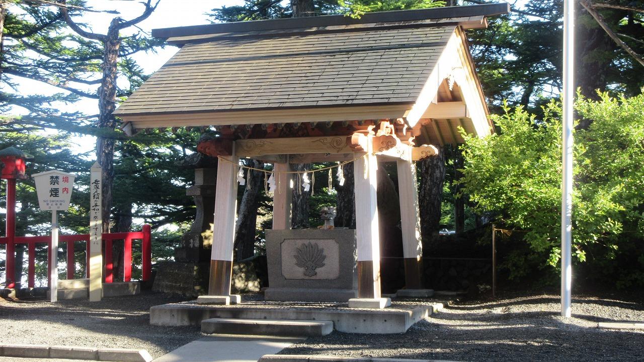 富士山5合目小御嶽神社_b0163804_20581117.jpg