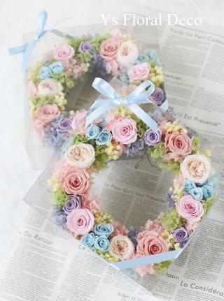 春らしい色のヘッドドレス & 贈呈用リース_b0113510_23110641.jpg