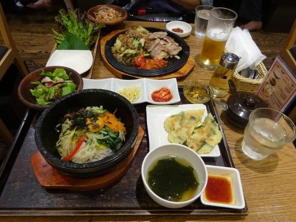 韓美膳で韓国料理_e0230011_17461296.jpg