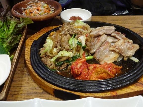 韓美膳で韓国料理_e0230011_17475911.jpg