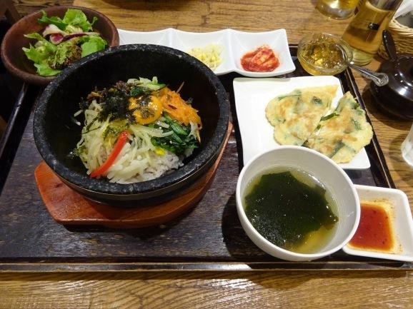韓美膳で韓国料理_e0230011_17491905.jpg