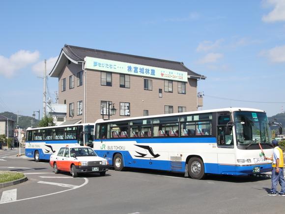 青春18切符 亘理駅から代行バスへ_d0202264_10592622.jpg