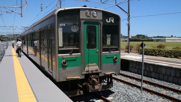 青春18切符 東北 相馬駅から小高駅まで_d0202264_1121395.jpg