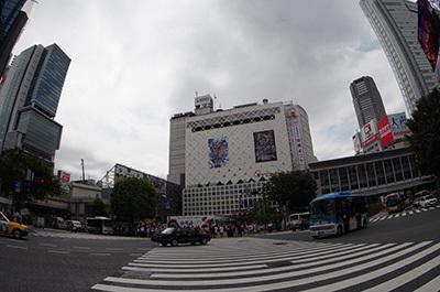 8月8日(月)今日の渋谷109前交差点_b0056983_14235221.jpg