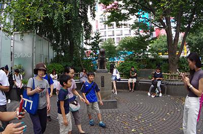 8月8日(月)今日の渋谷109前交差点_b0056983_14240109.jpg