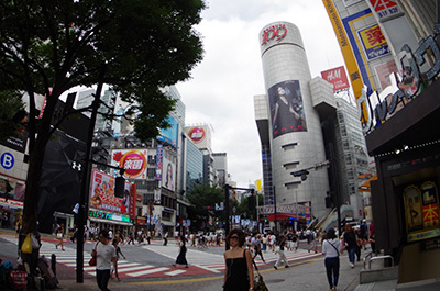 8月8日(月)今日の渋谷109前交差点_b0056983_14241140.jpg