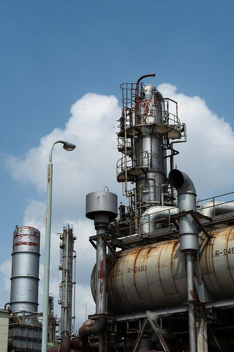 鉄分補給は灼熱の化学コンビナート_d0353489_20305998.jpg
