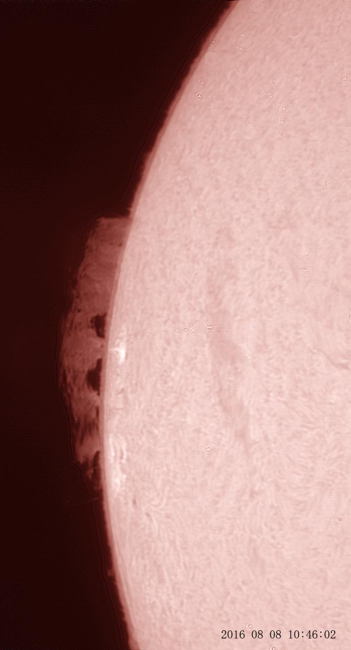 8月8日の太陽_e0174091_15225355.jpg