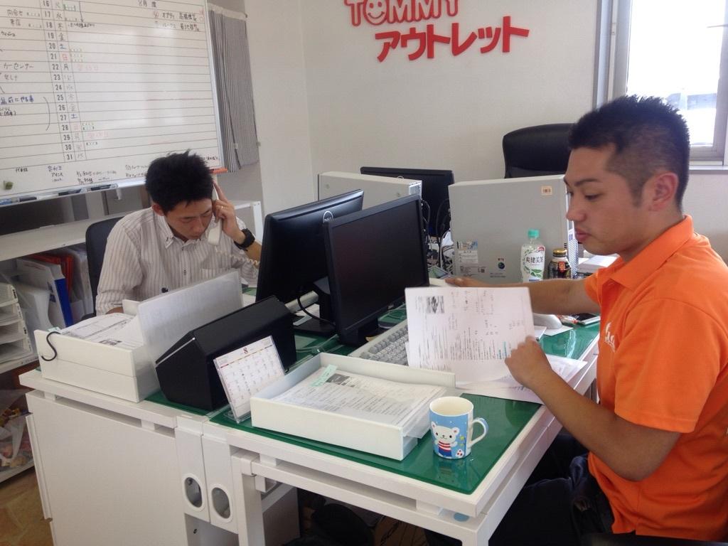 8月9日(火)☆TOMMYアウトレット☆あゆみブログ☆ローンサポート★_b0127002_17092617.jpg