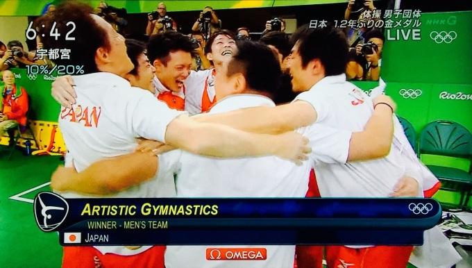 体操男子団体 日本金メダル!_f0115311_07421513.jpg