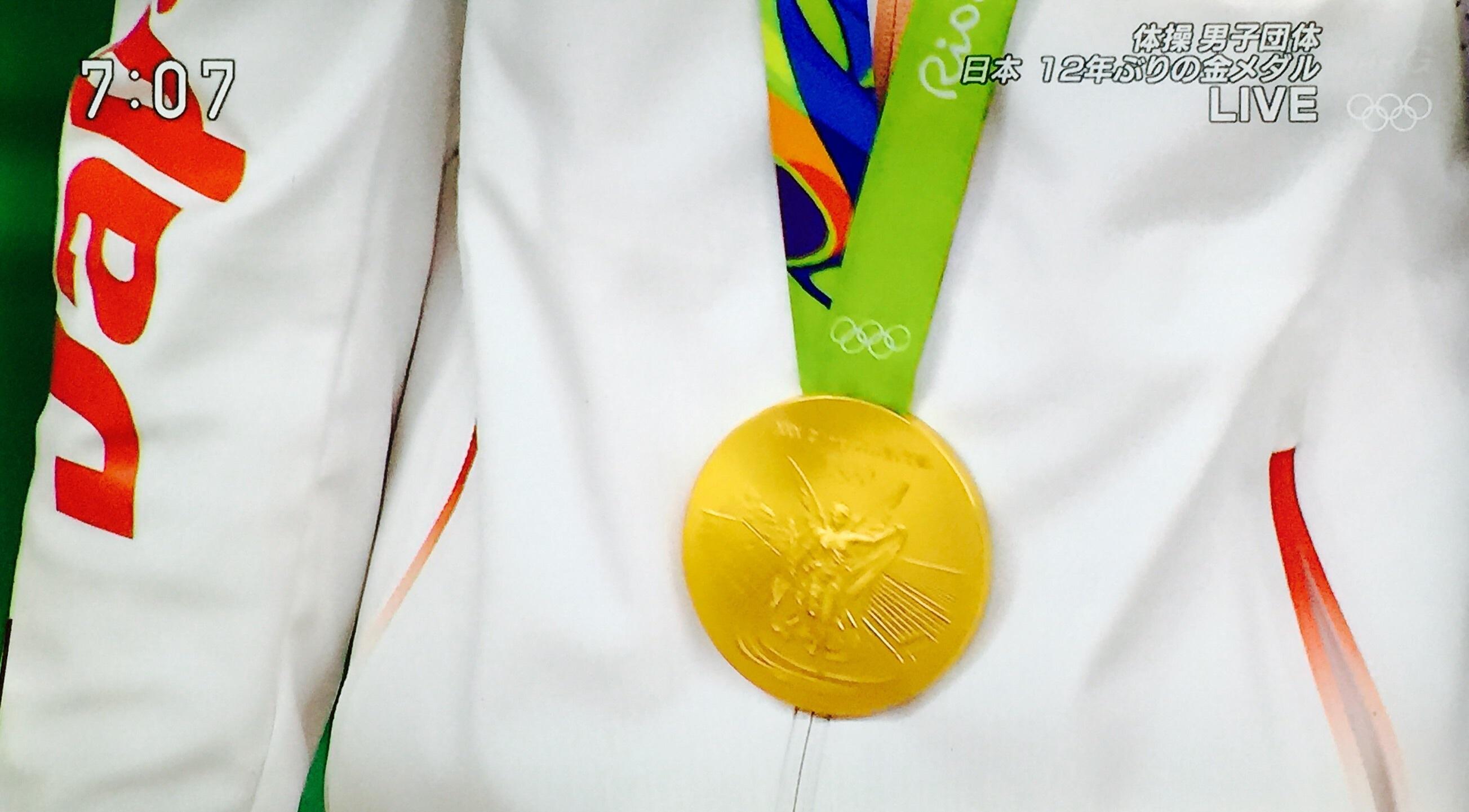 体操男子団体 日本金メダル!_f0115311_07442711.jpg