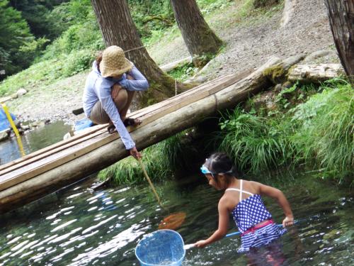 県民の森〜川遊び(*^^*)_f0170422_09184777.jpg