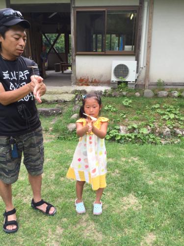 県民の森〜川遊び(*^^*)_f0170422_09185072.jpg