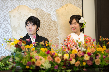 1年目の結婚記念に、奥様へ、花束を ずっと未来に残る、結婚式の花を_a0042928_17441786.jpg