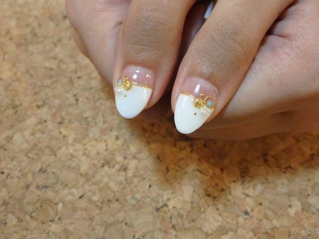 White Shell Nail_a0239065_10082408.jpg