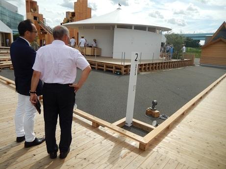 2016. 8. 8 福島県産材の安全性を「HOUSE VISION」でアピール_a0255967_162326.jpg