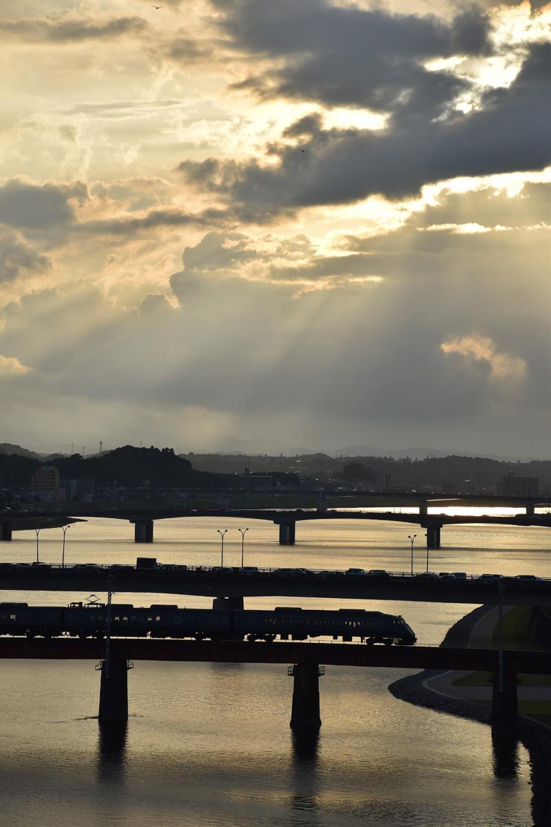 朝んぽと、すてきな雲祭り♪ (*^_^*)_c0049299_22323966.jpg