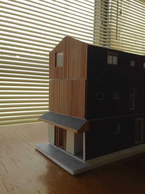 比叡山坂本の家 模型打合せ_d0116299_18113985.jpg