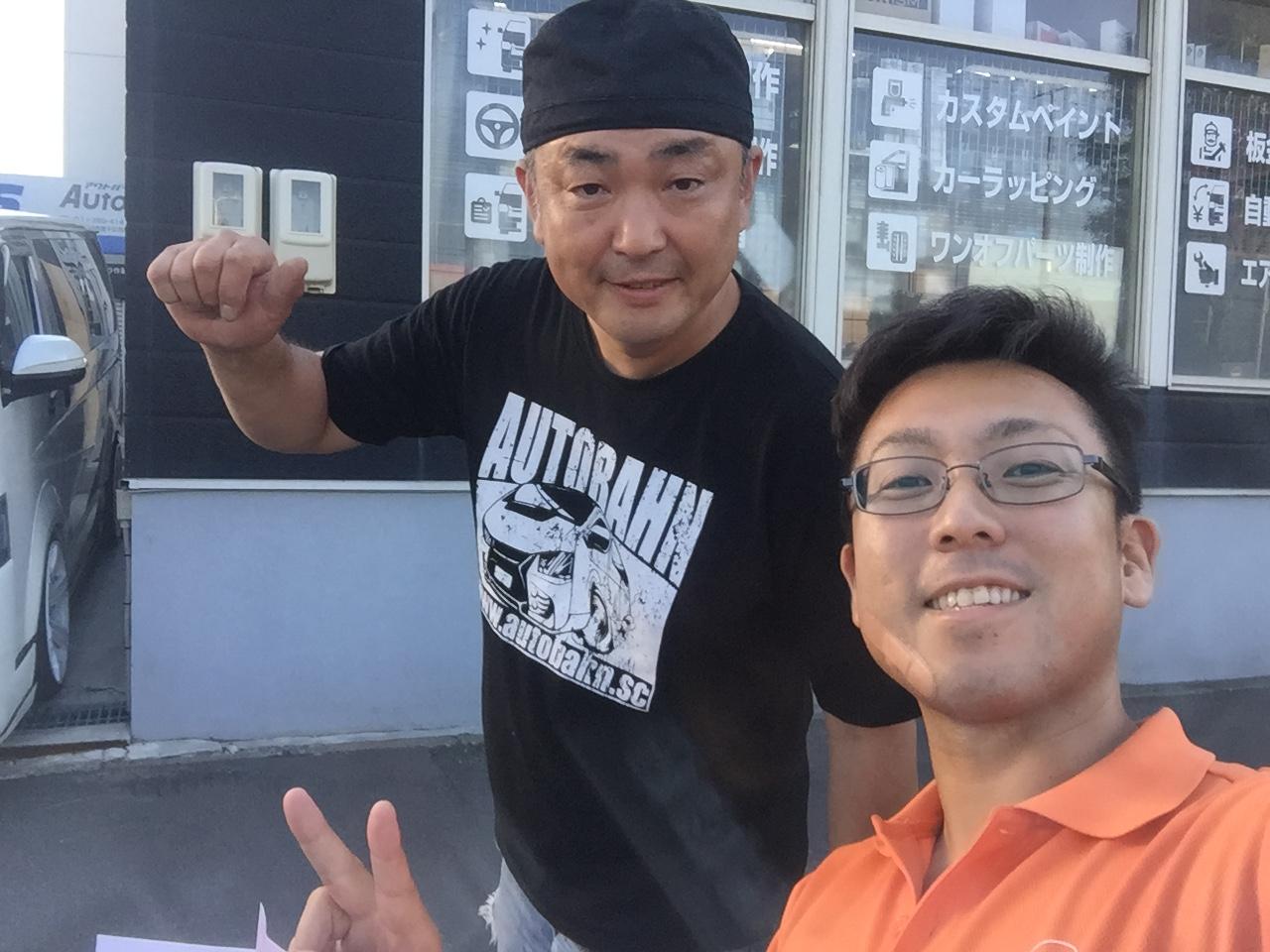 8月11日 木 Kenブログ ランクル ハマー アルファード_b0127002_21573644.jpg