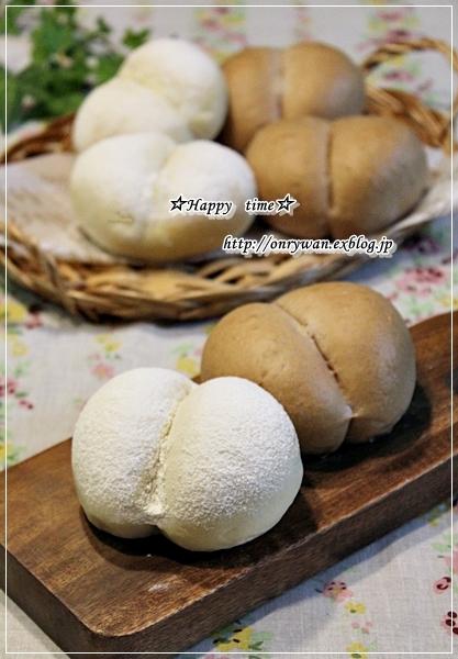 のり弁当と2色でおしりパン♪_f0348032_19050758.jpg