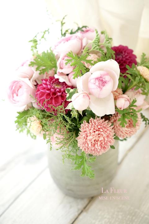 rose エレノアのブーケロン_f0127281_15223762.jpg