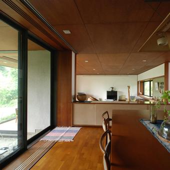 吉村順三設計の湘南茅ヶ崎の家に行きました。_c0195909_1205634.jpg