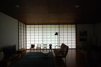 吉村順三設計の湘南茅ヶ崎の家に行きました。_c0195909_121648.jpg