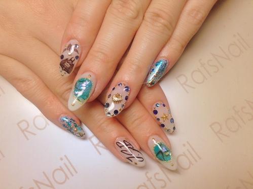 new nail☆_c0294909_1943955.jpg