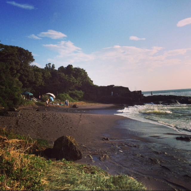 三浦の秘境ビーチで笛を鳴らしたいんda⛱_d0106911_14071982.jpg
