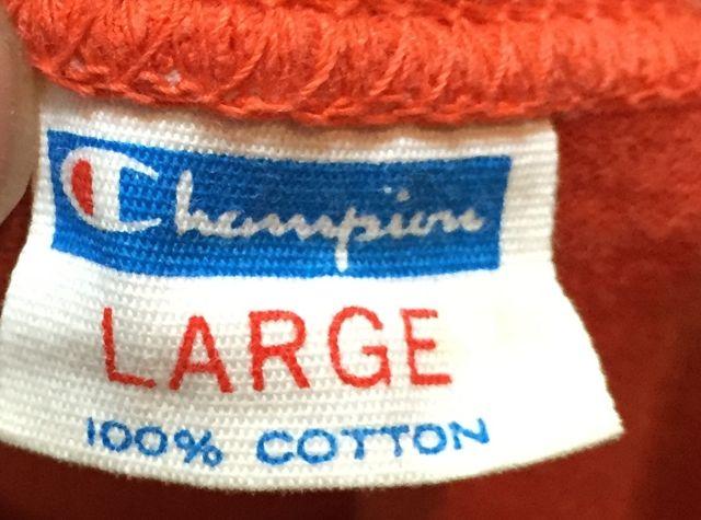 8/13(土)入荷!70s バータグ チャンピオン カレッジTシャツ all cotton!!_c0144020_1659473.jpg