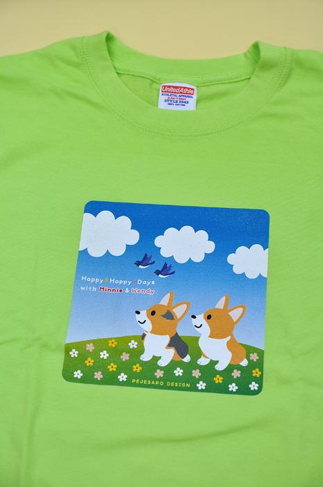 ミニーちゃん・ウエンディちゃん Tシャツとトレーナー_d0102523_1112314.jpg
