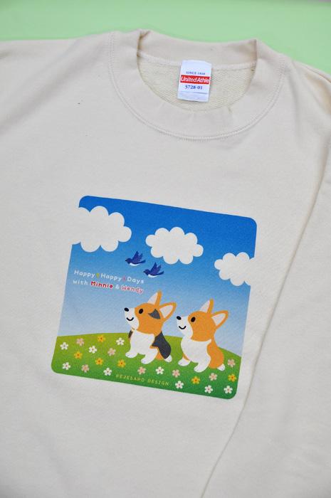 ミニーちゃん・ウエンディちゃん Tシャツとトレーナー_d0102523_1113386.jpg