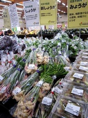 涼をかんじる薬味野菜_c0141652_10002129.jpg