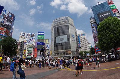 8月12日(金)今日の渋谷109前交差点_b0056983_14111704.jpg