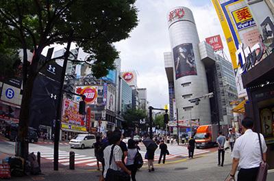 8月12日(金)今日の渋谷109前交差点_b0056983_14111784.jpg